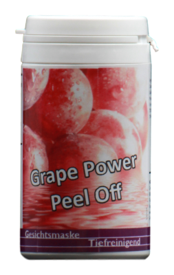 Grape Power regenerierende Peel Off Gesichtsmaske